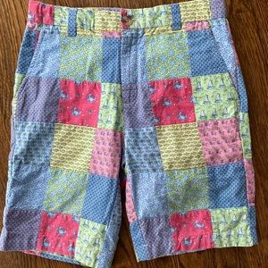 Vineyard Vines Boys Patchwork Breaker Shorts